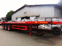 40ft tri axle flatbed